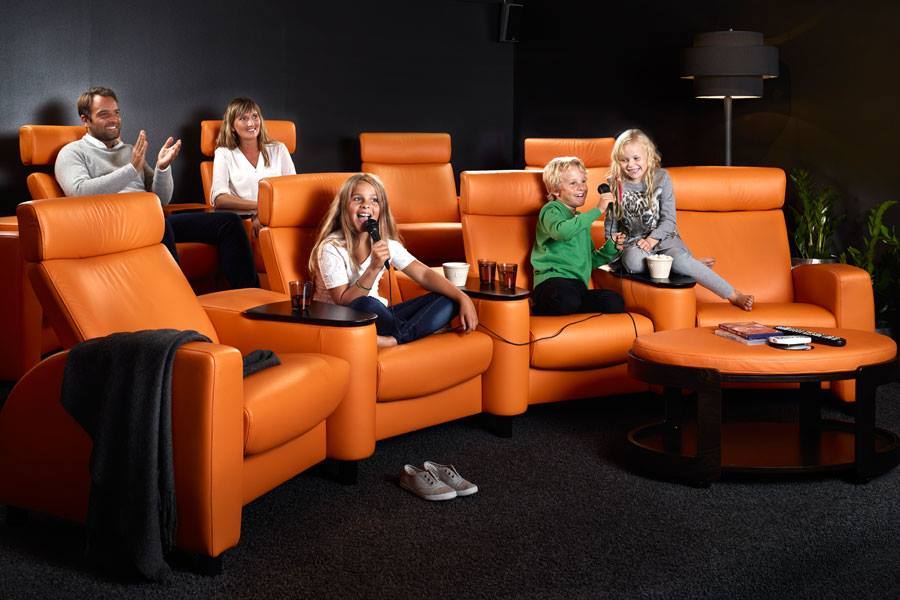 poltrone stressless home cinema arion